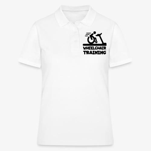 Rolstoel training 001 - Women's Polo Shirt