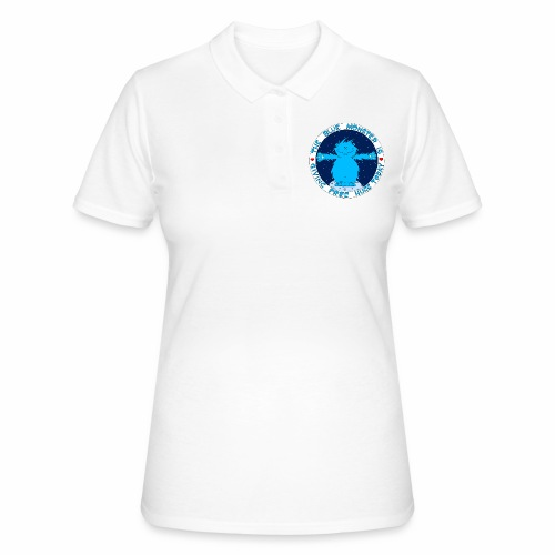 Le monstre bleu - Women's Polo Shirt