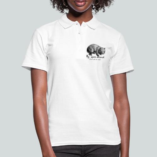 Wombat Spirit Animal I - Women's Polo Shirt