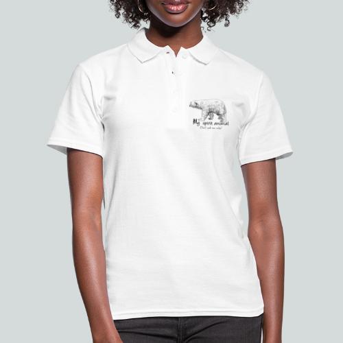 L'ours polaire est mon animal totem - Women's Polo Shirt