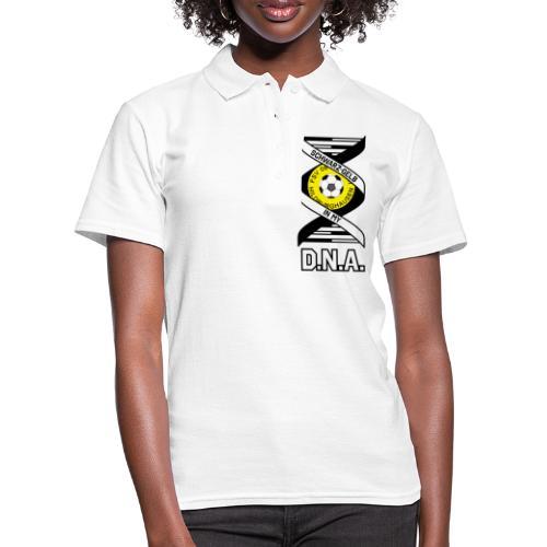 Hildburghausen FSV 06 - IN MY D.N.A. (weiss) - Frauen Polo Shirt
