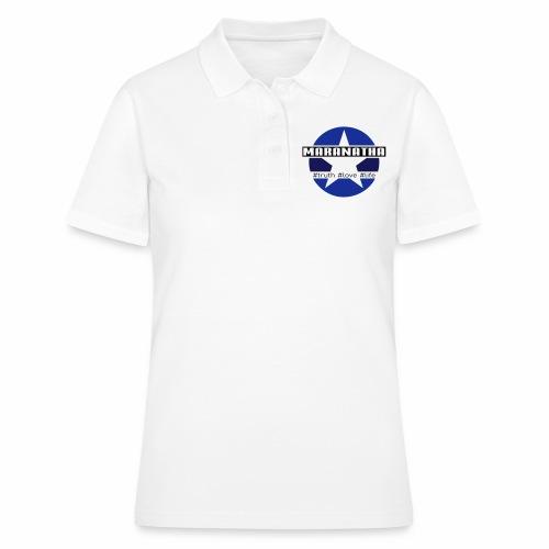 maranatha blau-braun - Frauen Polo Shirt
