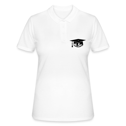 Doktorhut Master of Science M.Sc Doktorarbeit - Frauen Polo Shirt