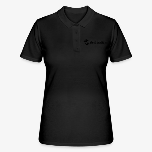 electroradio.fm - Frauen Polo Shirt