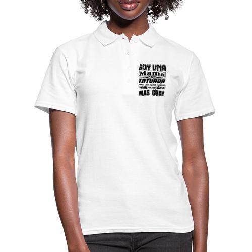 Soy una mamá tatuada - Women's Polo Shirt