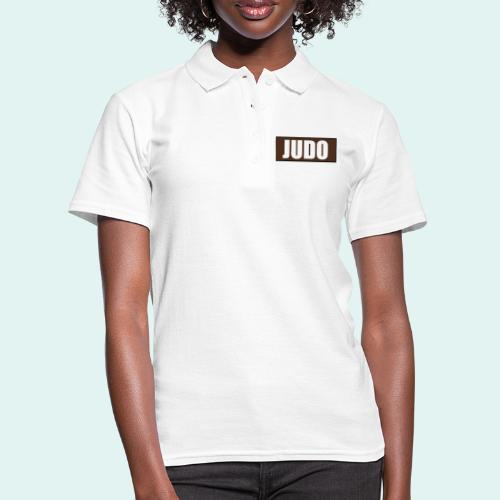 Judo Braun 1. Kyu - Frauen Polo Shirt