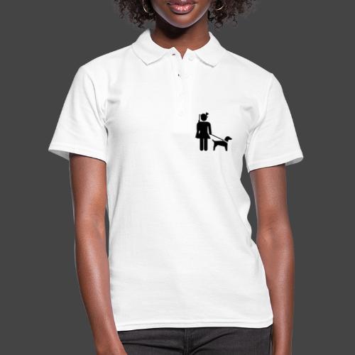 """""""Hundeführerin""""-Jägerinnen Shirt - Frauen Polo Shirt"""