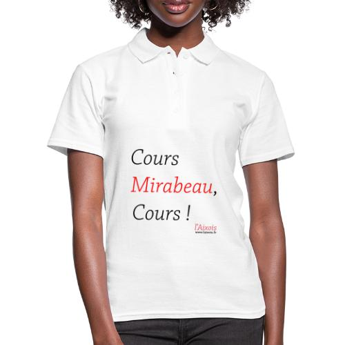 COURS MIRABEAU - Polo Femme