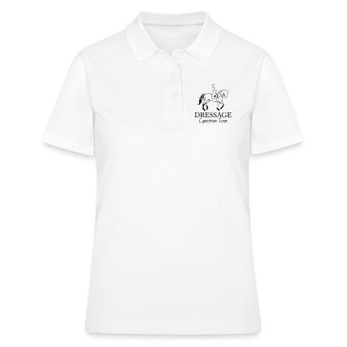 Dressursport Pferd und Reiterin Design - Frauen Polo Shirt