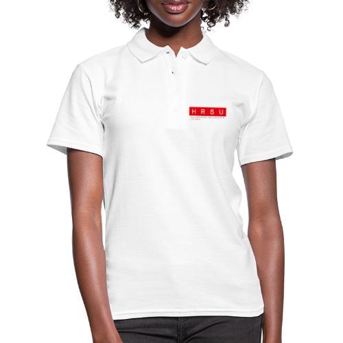HRSU Wear Tape Red Big - Frauen Polo Shirt