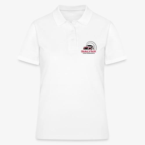 Dialynx Performance Race Team White Range - Women's Polo Shirt