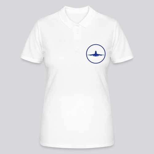 IVAO (symbole bleu) - Polo Femme