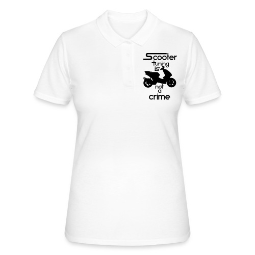 Scooter tuning is not a crime! Vol. III HQ - Frauen Polo Shirt