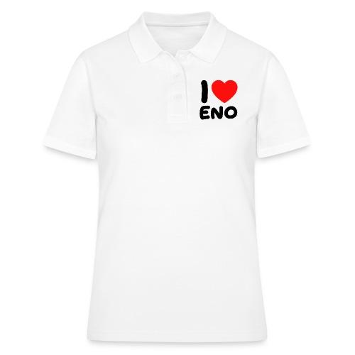 I love Eno / musta - Naisten pikeepaita