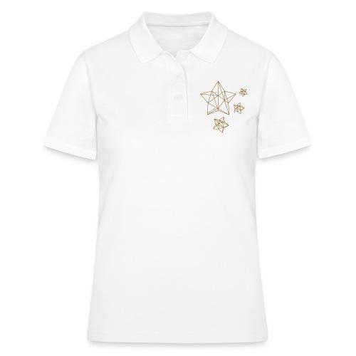 Sternenhimmel Diamant - Frauen Polo Shirt