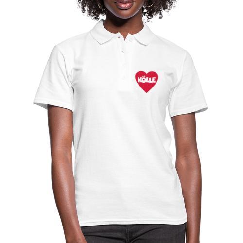 I Love Kölle - Ein Herz für Köln - Frauen Polo Shirt