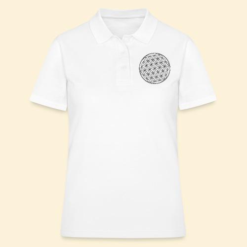 Lebensblume 01 b - Frauen Polo Shirt