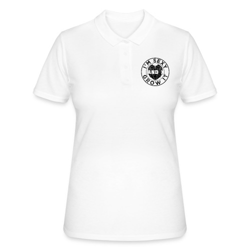 I'm Sexy And I Grow It Funny Beard Quotes Gift - Frauen Polo Shirt