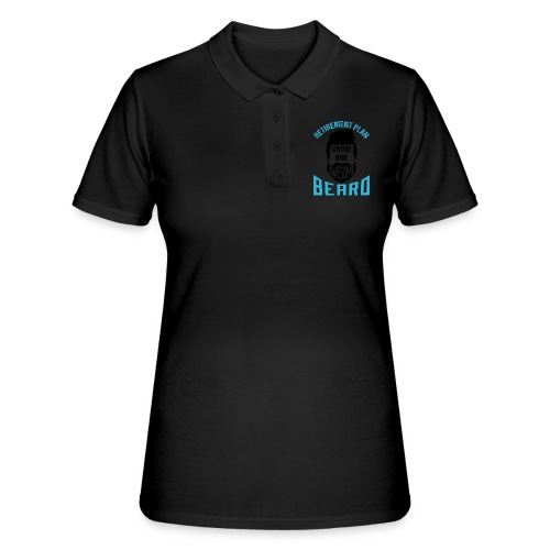 Retirement Plan Grow One Awesome Beard - Frauen Polo Shirt
