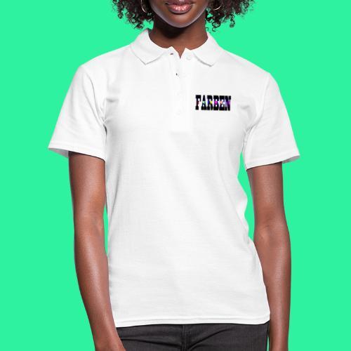FARBEN - Frauen Polo Shirt