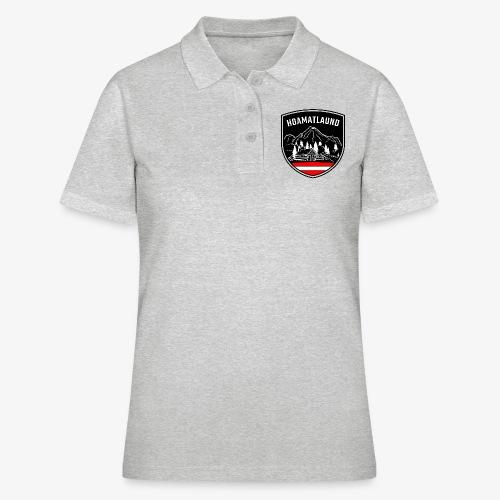 Hoamatlaund logo - Frauen Polo Shirt