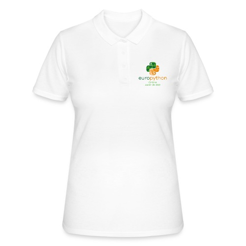 EuroPython 2020 - Vertical Color Logo - Women's Polo Shirt