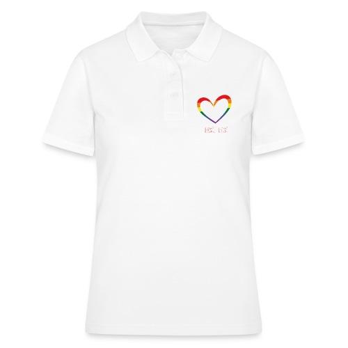LUBOSĆ JE LUBOSĆ - Frauen Polo Shirt