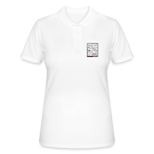 Logo Nos origines Notre culture langage Réunion - Women's Polo Shirt