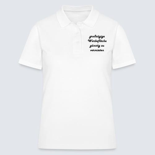 großzügige Werbefläche - Frauen Polo Shirt