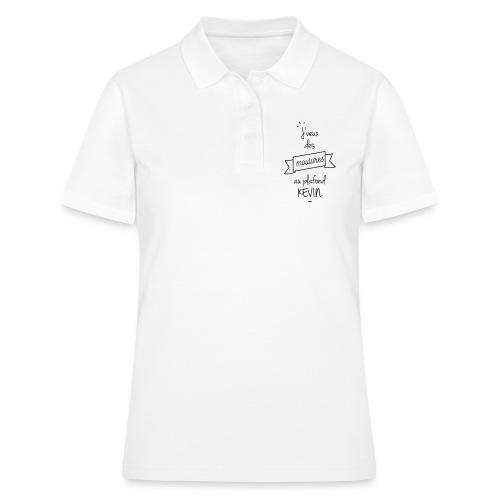 J veux des moulures au plafond kevin - Women's Polo Shirt