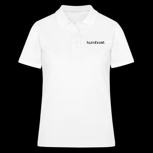 Hirnfrost - Frauen Polo Shirt