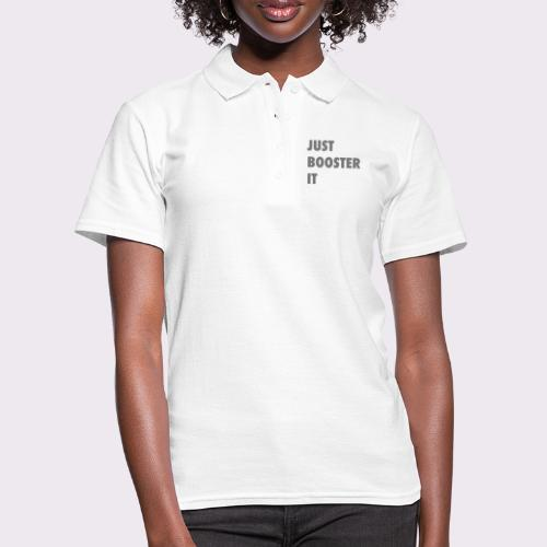 just boost it - Women's Polo Shirt