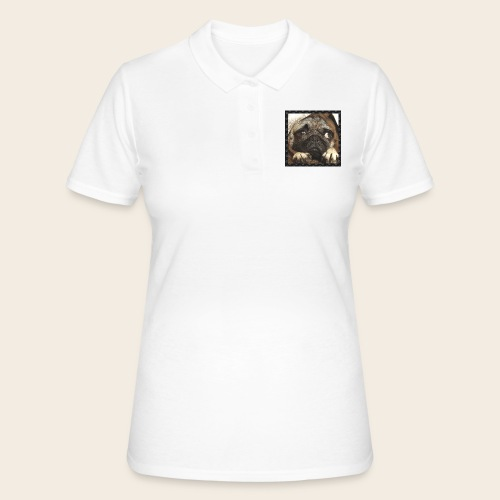 Mops Hund 1 - Frauen Polo Shirt