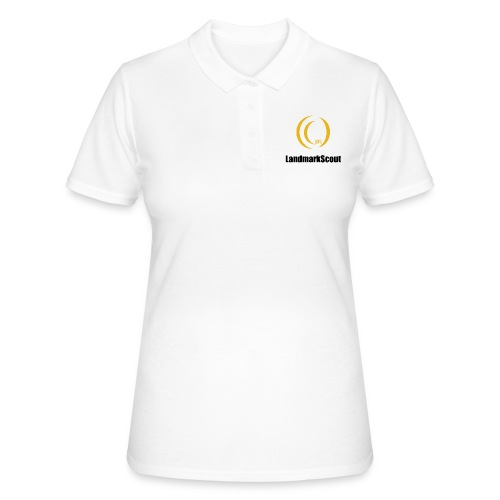Tshirt White Front logo 2013 png - Women's Polo Shirt