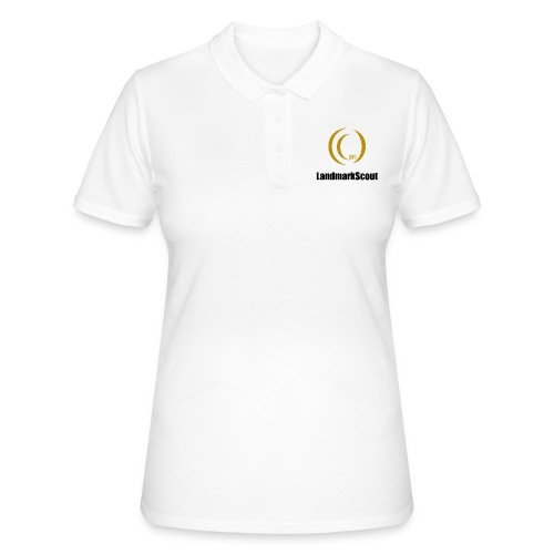 Tshirt Yellow Front logo 2013 png - Women's Polo Shirt