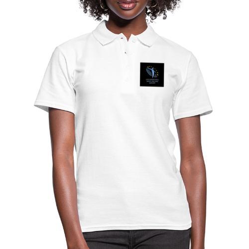 02 ubie on black centered square jpg - Women's Polo Shirt