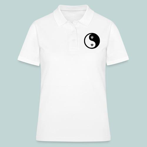 Schach-Yingyang - Frauen Polo Shirt