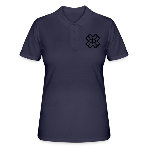d3ep logo black png - Women's Polo Shirt
