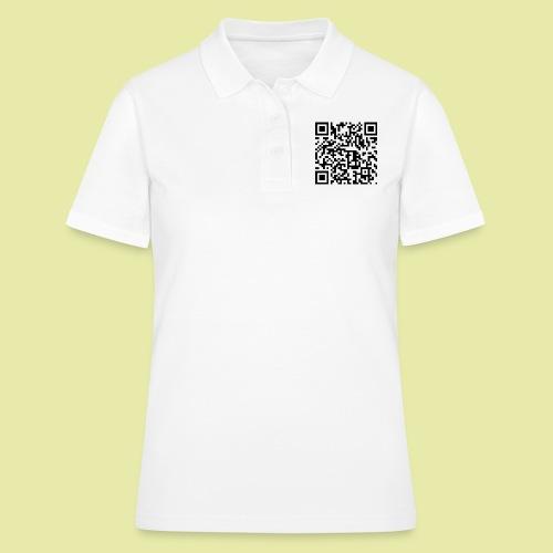 QR-Code Karslruhe Extra - Frauen Polo Shirt