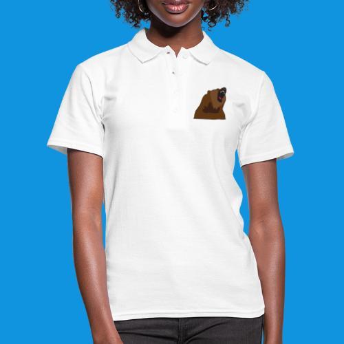 Growling Bear - Women's Polo Shirt