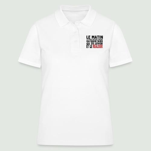 le matin - Women's Polo Shirt