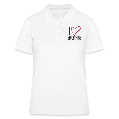I love Geocaching - Women's Polo Shirt