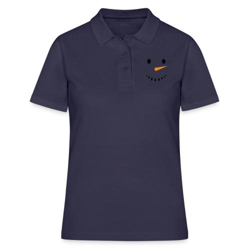 Bonhomme de neige Noël Hiver - Women's Polo Shirt