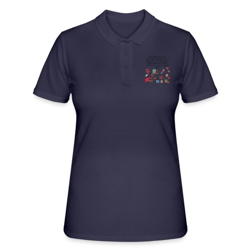 Bonne resolution Noël Nouvel An - Women's Polo Shirt