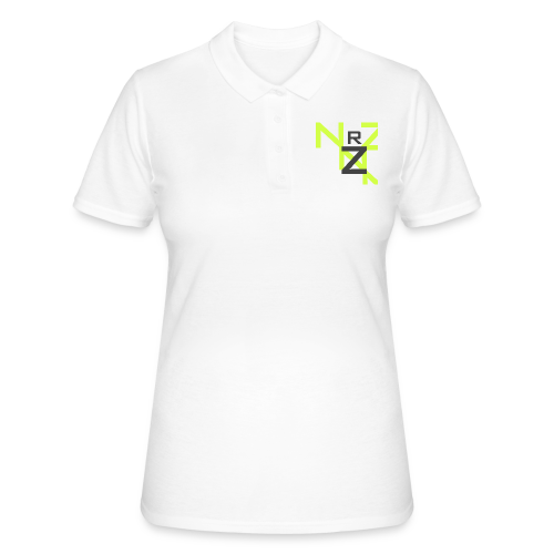 Nörthstat Group™ Clear Transparent Main Logo - Women's Polo Shirt