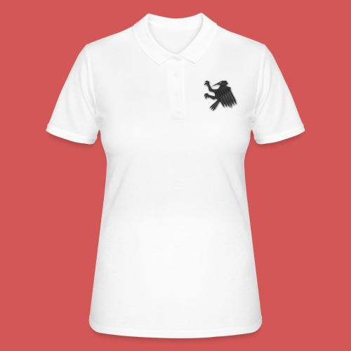 Nörthstat Group ™ Black Alaeagle - Women's Polo Shirt
