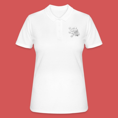 Nörthstat Group ™ White Alaeagle - Women's Polo Shirt