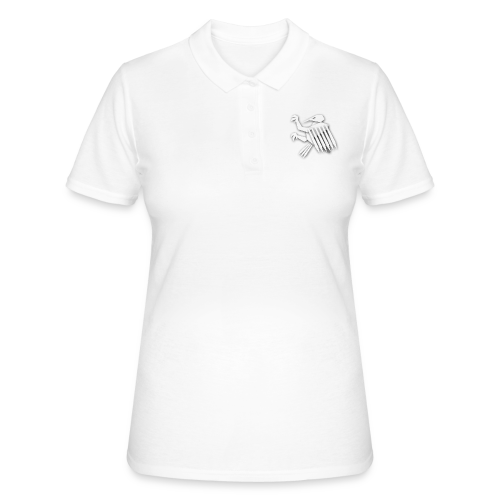 Nörthstat Group ™ White Alaeagle - Women's Polo Shirt