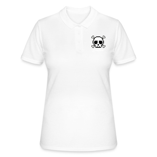 Scripted. Skull - Women's Polo Shirt
