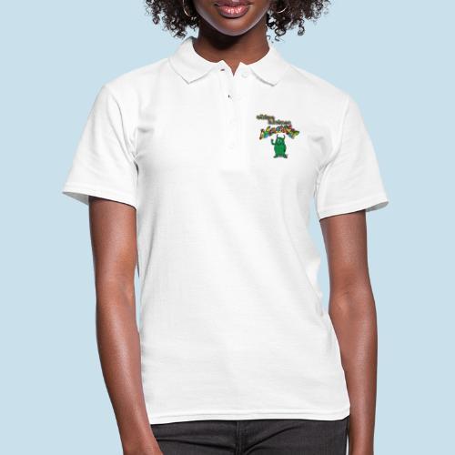 Süßes kleines Monster - Frauen Polo Shirt